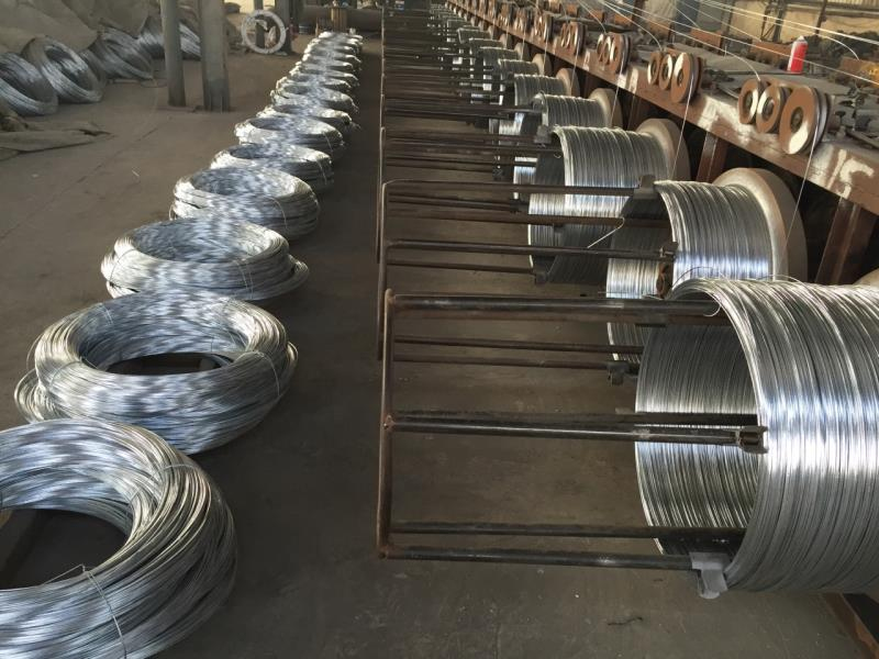Steel wire for special purposes